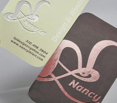 23 fresh creative business cards designs for Business card printing houston
